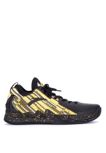 Anta black KT2 Finals Low Basketball Shoes 26407SH20FEF4CGS_1