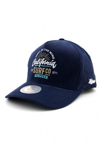 DOSSCAPS navy FLIPPER Surfco Baseball Cap (Navy) B3265ACBD736E6GS_1
