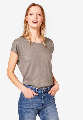 ESPRIT green Short Sleeve T-Shirt C3E52AAA13B91BGS_1