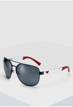 4e2341edbc9f Emporio Armani black Emporio Armani EA2064 Sunglasses 4BA82GLD065B9DGS 1