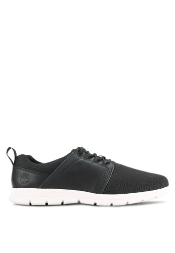 Timberland black Graydon Fabric and Leather Low Shoes TI063SH0RIF9MY_1