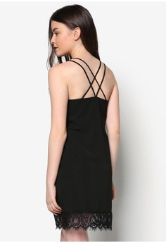 Love Cami Dress With Lace