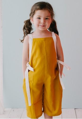 Piccola yellow Piccola Lexie Jumpsuit Mustard C03CDKA5121DD7GS_1