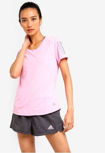 low priced 88b40 a5f79 adidas pink adidas own the run tee BB1C1AA7959234GS1