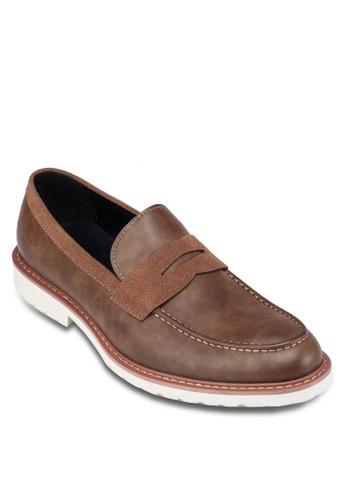 Penny 飾zalora鞋帶樂福鞋, 鞋, 船型鞋