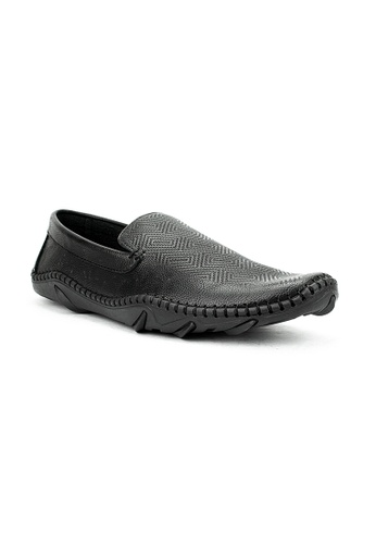 Mario D' boro Runway black MS 43210-Black Casual Shoes 7F66FSHDE95446GS_1