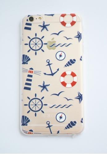 Fancy Cellphone Cases multi Sailor Themed Transparent Soft Case for iPhone  6 plus/ 6s plus FA644AC56DCPPH_1
