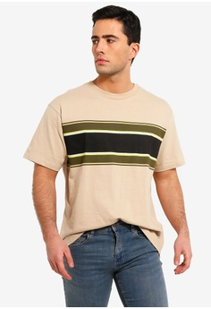 354d278d30 Cotton On multi and beige Dylan Tee 4A11BAA11AC7A5GS 1