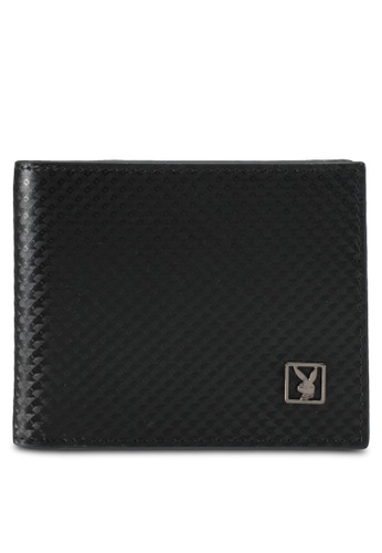 Playboy black Playboy Bi-Fold Wallet PL371AC0SK15MY_1