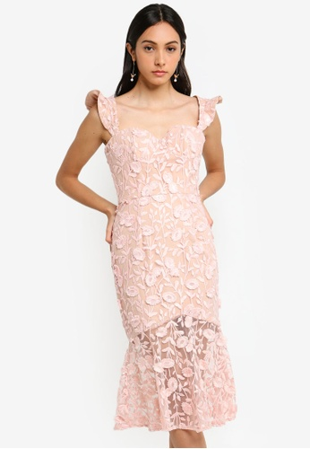 JARLO LONDON pink Tootsie Evening Dress 1F666AA9380ED4GS_1