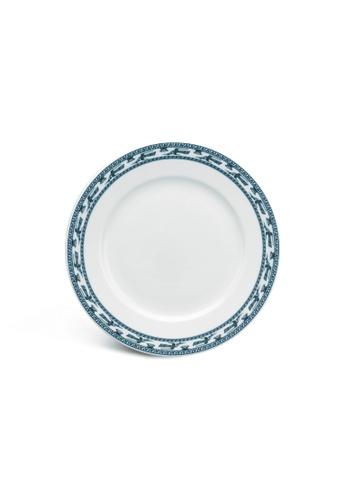 Minh Long I white Annam Bird: Porcelain Flat Round Plate (22cm) 02882HLE2EB937GS_1