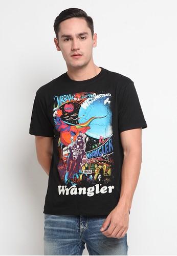 Wrangler black Short Sleeve Edmun4A21 A9B5DAA5BC2066GS_1