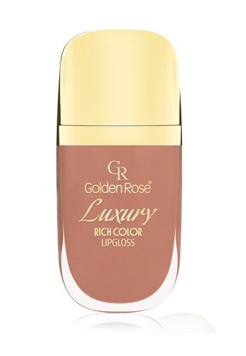GOLDEN ROSE orange Luxury Lip Gloss - 16 GO743BE16DVBMY_1
