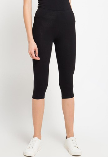 Opelon black Opelon Celana Olahraga Wanita - Legging 3/4 Black E7087AA6A4A770GS_1