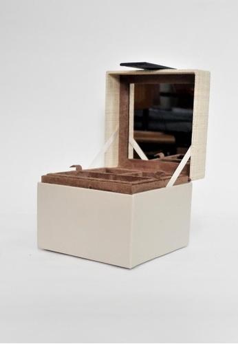 Grassroots grey Square Jewelry Box (Small) F596FHL5883ADDGS_1