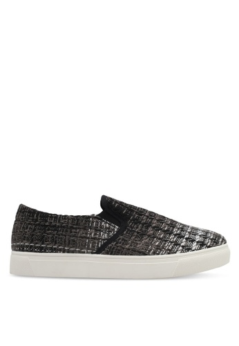 JAXON brown Fabric Slip Ons F7D97SHF3C3551GS_1