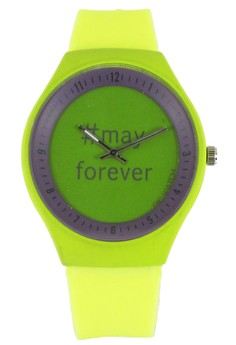 Pic Watch May Forever Unisex Silicon Watch