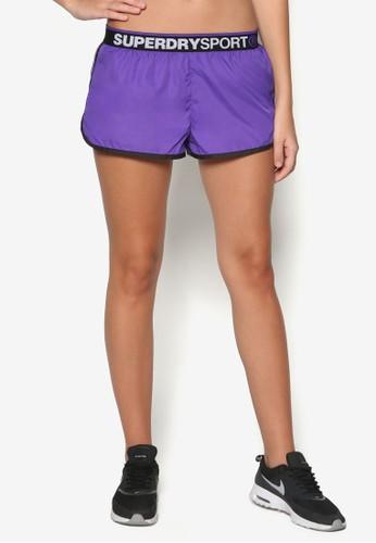 品牌滾邊esprit tst健身短褲, 服飾, 運動