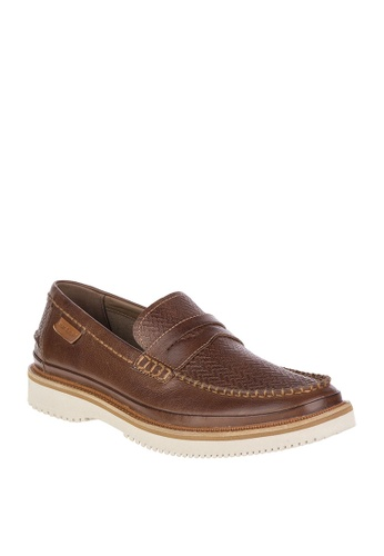 Hush Puppies brown Bernard Penny M D3727SHEE95832GS_1