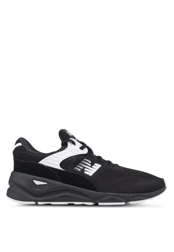 New Balance black and white X90 Lifestyle Engineered Knit Shoes AB11ASH54F6FF9GS_1