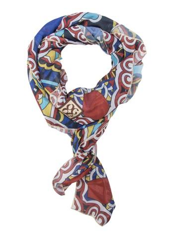 印花絲巾, 飾品配件, 披esprit旗艦店肩