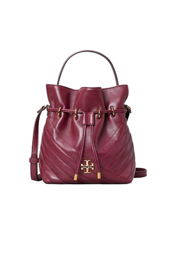 TORY BURCH red Tory Burch Kira Chevron Mini Bucket Bag Imperial Garnet 73561 DDBCEACDDC0D33GS_1