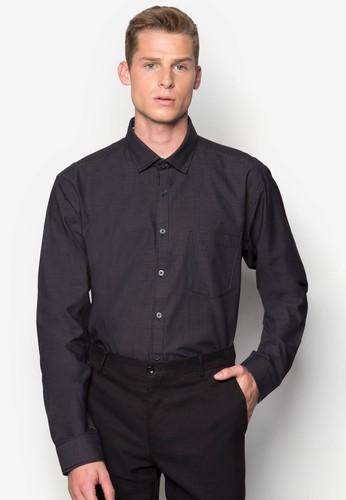 點zalora 包包評價點印花長袖襯衫, 服飾, 服飾