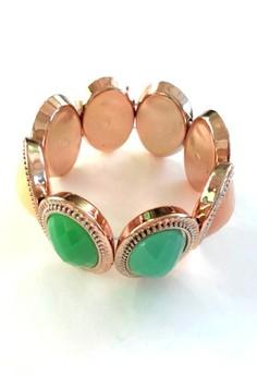 Pastel Gem Colored Bracelet