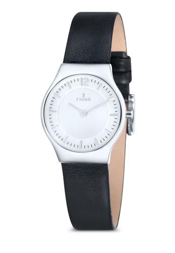 EDLA 雙esprit童裝門市指針皮革錶, 錶類, 飾品配件