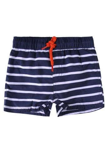 Du Pareil Au Même (DPAM) blue Crab Swim Trunks 4A173KA45839ADGS_1