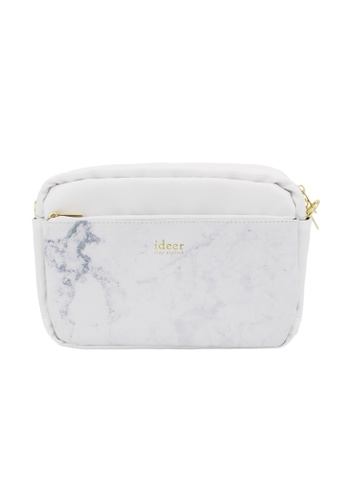 ideer white Kayton White Marble - Camera Cross Bag 94027ACD7B87AFGS_1