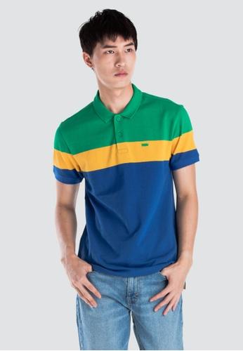 4315439864e3f Levi's multi Levi's Housemark Polo Shirt Men 58859-0017 49FF3AA3A9A582GS_1