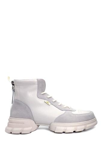 Twenty Eight Shoes white Sport Leather Boot VB1086 A94E9SHD0A9B8DGS_1
