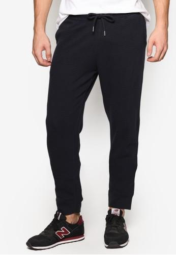 簡約抽繩運動zalora 鞋評價長褲, 服飾, 服飾