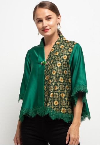 LUIRE by Raden Sirait green Fm Cape Kartini Trc ADD9DAA11E9579GS_1