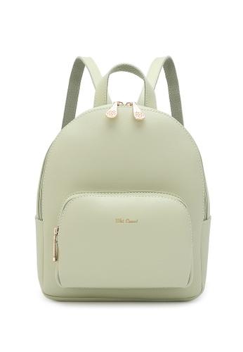 Wild Channel green Women's Casual Backpack B2229AC0B94B6BGS_1
