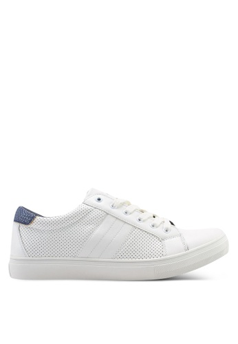 High Cultured white Panelled Sneakers-343 7B359SHD65B8FAGS_1