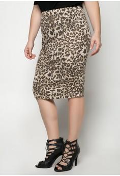 Adara Plus Size Skirt