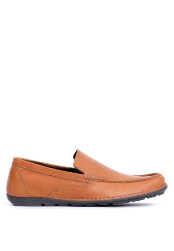 Tony Perotti brown Tony Perotti Loafers Brice - Orange D17E9SHB17FE78GS_1