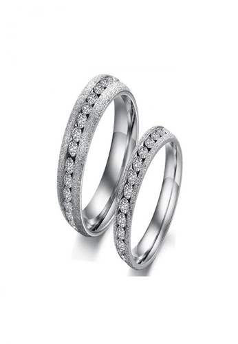 Sopistikada silver Beautiful Stainless Steel Ring for Women (Couple Ring Sold Per Piece) SO776AC0JBT9PH_1