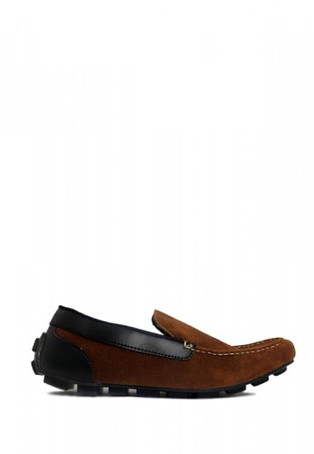 D-Island brown D-Island Shoes Casual Slip On Loafers Comfort Brown E9180SH74A9E2DGS_1
