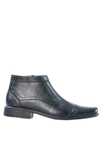 Tony Perotti black Tony Perotti Boots Ashton - Black TO890SH0VNHUID_1