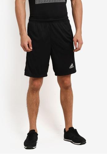 adidas black adidas d2m 3s short AD372AA0SUPXMY_1