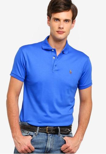 Polo Ralph Lauren 藍色 修身POLO衫 FF60AAA28BD4C1GS_1