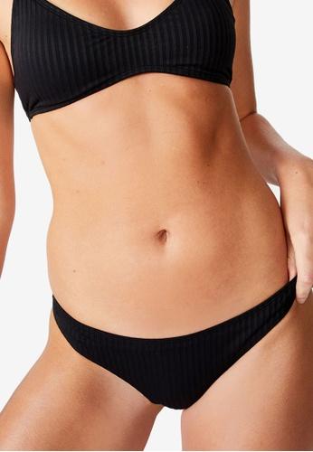 Cotton On Body black Full Bikini Bottoms 379A6US4806276GS_1