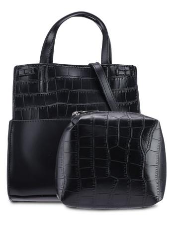 Berrybenka black Myana Decca Top Handle Bag 4BEF0AC7901375GS_1