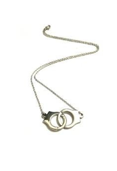 Christian Grey handcuff necklace