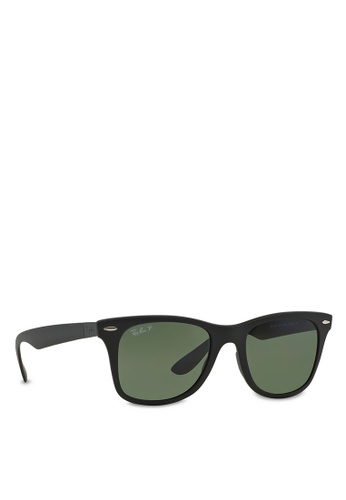 ec0af9ed69 Buy Ray-Ban Wayfarer Liteforce RB4195 Polarized Sunglasses Online on ZALORA  Singapore