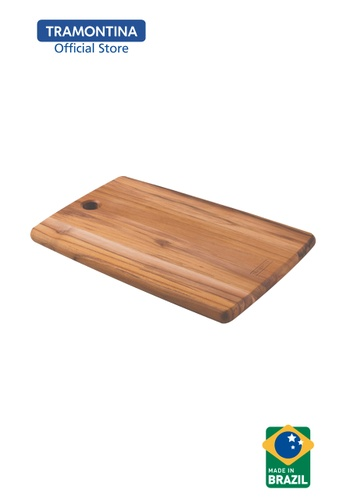 Tramontina Tramontina Kitchen Cutting Board in Teak Wood 1A9F8HLB7C3C29GS_1