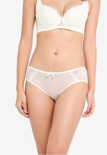 XIXILI white Basilia Boyleg Panty B9CCCUS80187F9GS_1